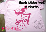 "Flock Motiv ""Fee mit Namen"""