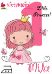 BÜGELBILDER ♥ little Princess ♥ Din A5