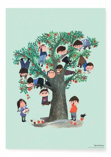 Poster Apple Tree, 42 x 59.4 cm