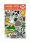 Miffy Wandtattoos Miffy riding on turtle, 21 x 33 cm