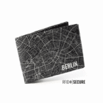 Portemonnaie Berlin Map - Secure