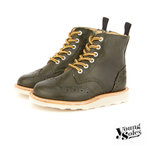 Sidney Brogue Boot Hunter Green Leather