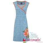 Dress Summer Cross Hatch Blue Tante Betsy
