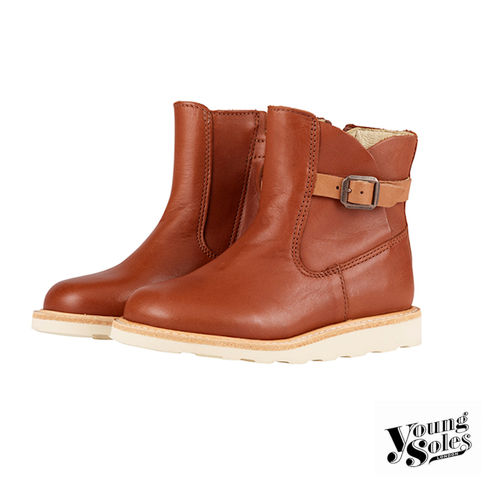 Vera Ankle Boot Chestnut Brown Leather | Child