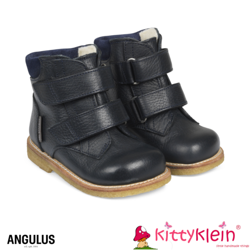 Starter TEX-boot with adjustable velcro closure navy blau