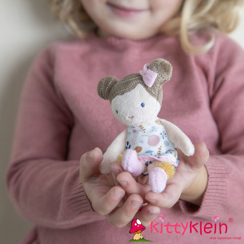 Little Dutch - Kuschelpuppe Rosa 10 cm | kittyklein®