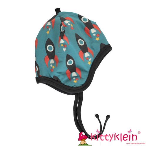 Hat Helmet Velour MOON ROCKET Maxomorra | kittyklein ®