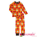 Pyjama Set LS CLASSIC APPLE Maxomorra
