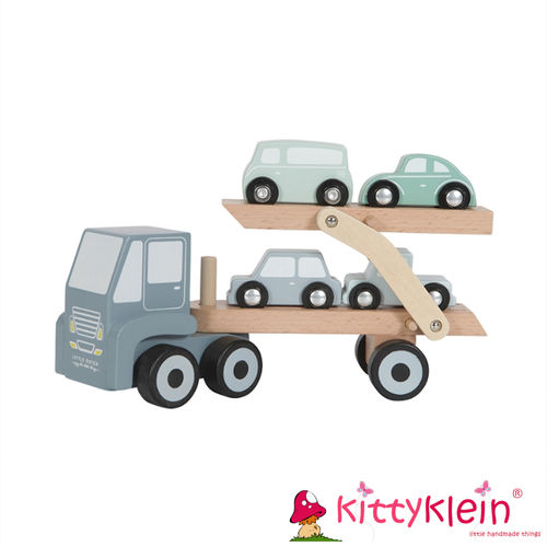 Little Dutch - Holz Autotransportwagen
