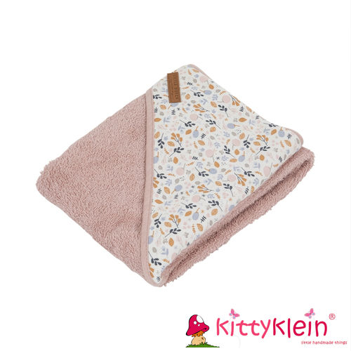 Little Dutch - Kapuzenhandtuch – adventure rosa (Jersey) | kittyklein®