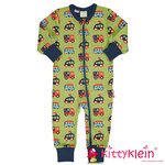 Rompersuit LS COLOURFUL CARS Maxomorra