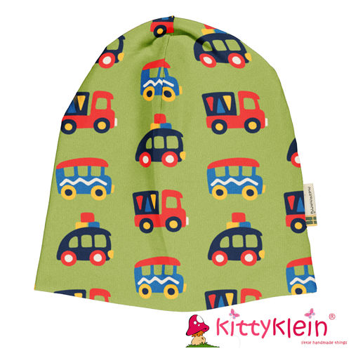 Beanie Mütze COLOURFUL CARS Maxomorra | kittyklein ®