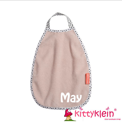Pullover terry bib Happy dots Powder | 1393921 | done by deer, Lätzchen | kittyklein®