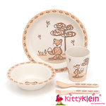 Kindergeschirr | My Friend Fox Bamboo Set | Jellycat | kittyklein®