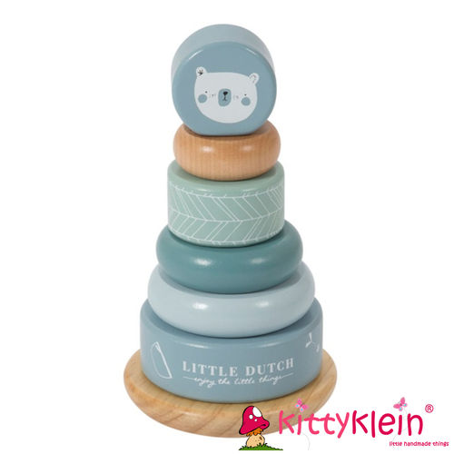 Little Dutch | Ring-Stapelturm | Adventure blue | LD4401 |kittyklein®