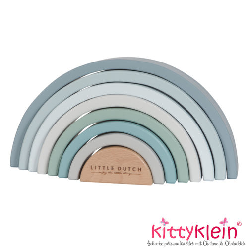 Little Dutch | Stapel-Regenbogen blau | LD4463 | kittyklein®